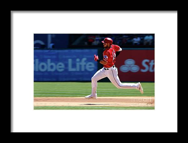 People Framed Print featuring the photograph Joey Gallo by Ron Jenkins
