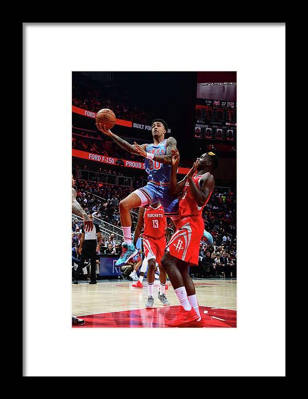 Atlanta Framed Print featuring the photograph John Collins by Scott Cunningham