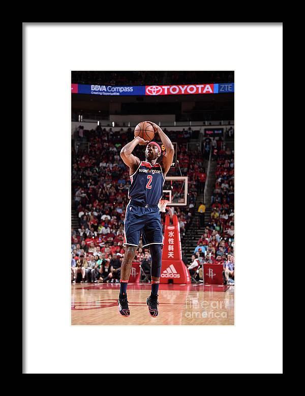 Nba Pro Basketball Framed Print featuring the photograph John Wall by Bill Baptist