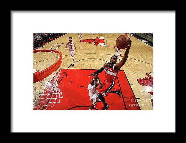 Nba Pro Basketball Framed Print featuring the photograph John Wall by Gary Dineen