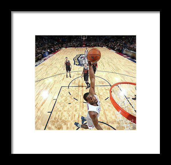 Event Framed Print featuring the photograph John Wall by Nathaniel S. Butler
