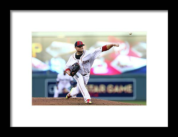 People Framed Print featuring the photograph Jon Lester by Elsa