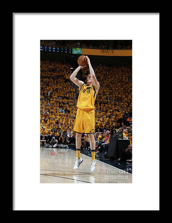 Playoffs Framed Print featuring the photograph Jonas Jerebko by Melissa Majchrzak