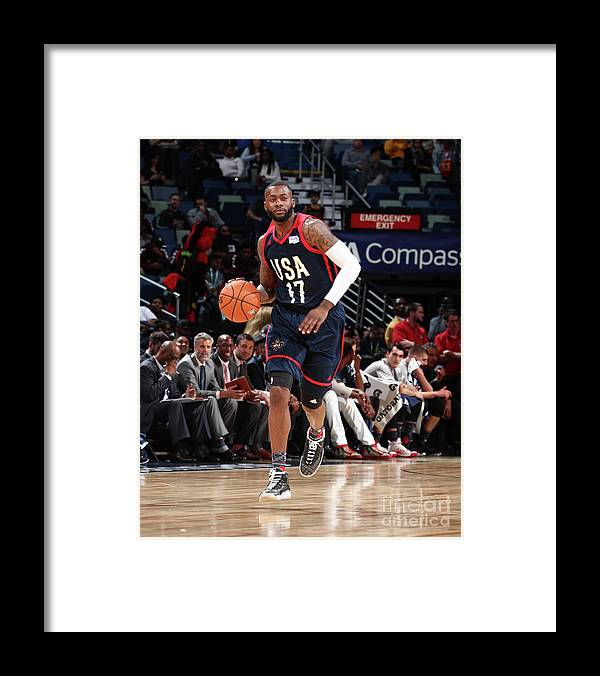 Event Framed Print featuring the photograph Jonathon Simmons by Nathaniel S. Butler