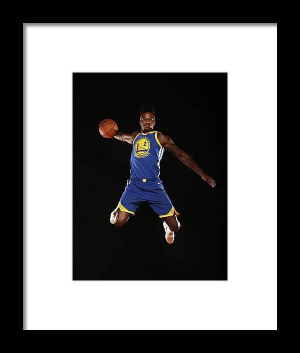 Nba Pro Basketball Framed Print featuring the photograph Jordan Bell by Brian Babineau