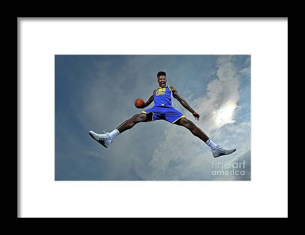 Nba Pro Basketball Framed Print featuring the photograph Jordan Bell by Jesse D. Garrabrant