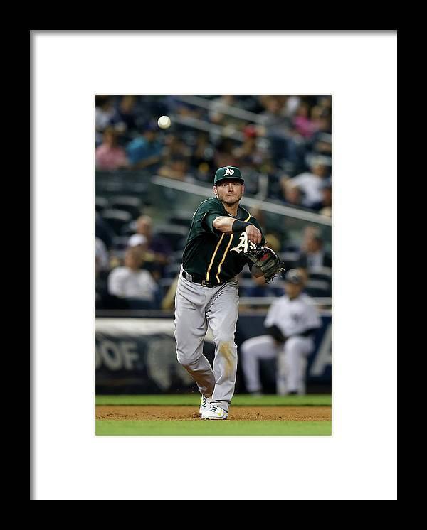 American League Baseball Framed Print featuring the photograph Josh Donaldson by Elsa