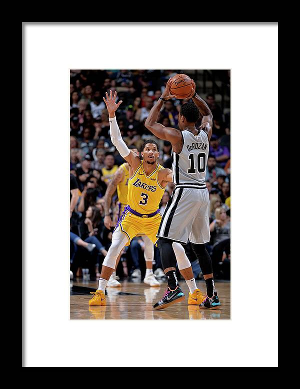 Nba Pro Basketball Framed Print featuring the photograph Josh Hart by Mark Sobhani
