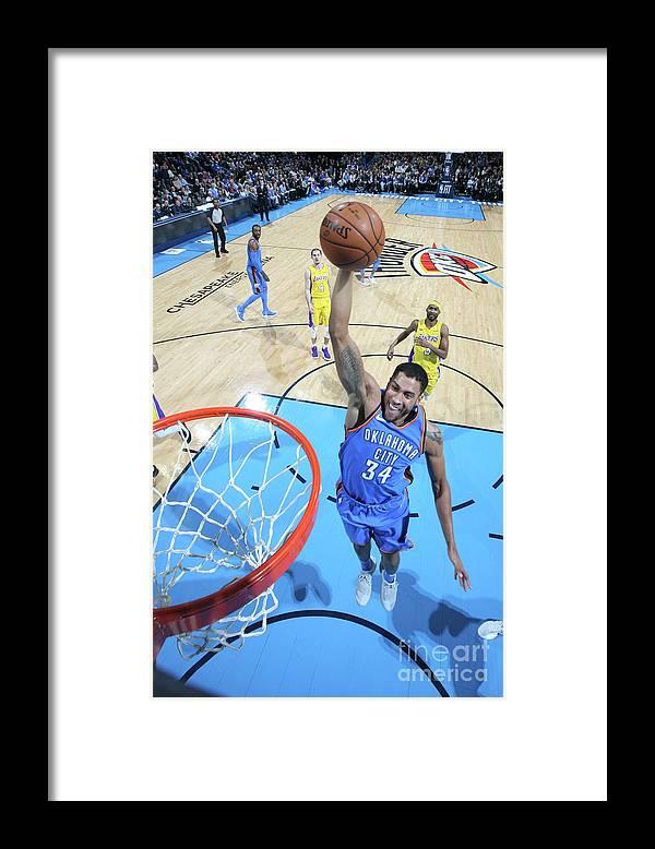 Nba Pro Basketball Framed Print featuring the photograph Josh Huestis by Layne Murdoch
