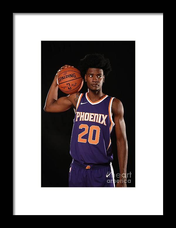 Nba Pro Basketball Framed Print featuring the photograph Josh Jackson by Brian Babineau