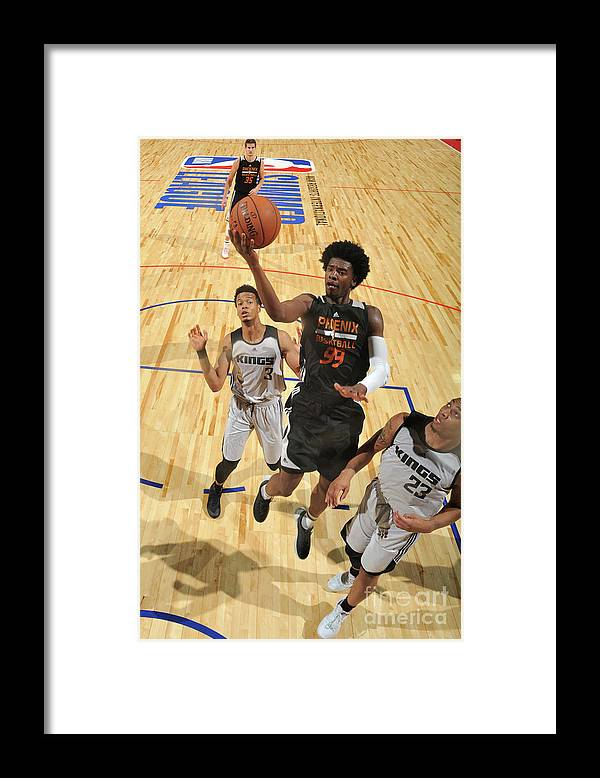 Nba Pro Basketball Framed Print featuring the photograph Josh Jackson by Garrett Ellwood