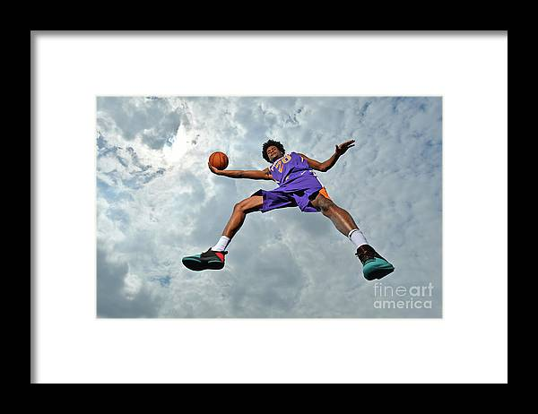 Nba Pro Basketball Framed Print featuring the photograph Josh Jackson by Jesse D. Garrabrant