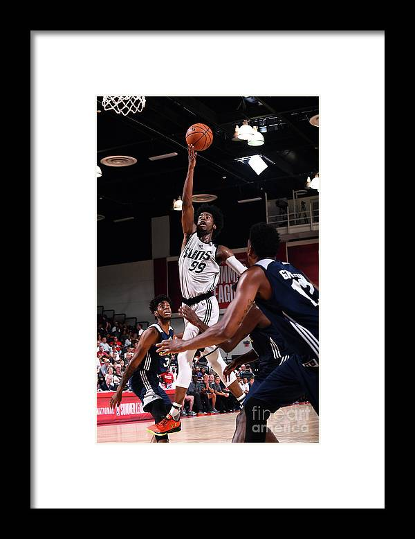Nba Pro Basketball Framed Print featuring the photograph Josh Jackson by Noah Graham
