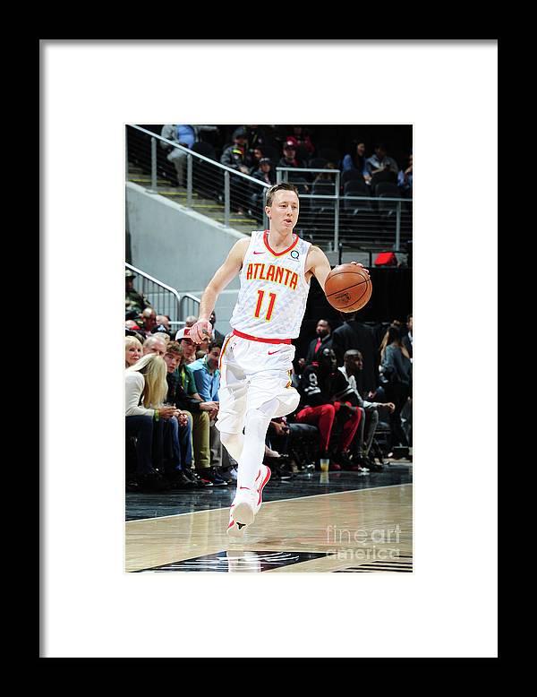 Atlanta Framed Print featuring the photograph Josh Magette by Scott Cunningham