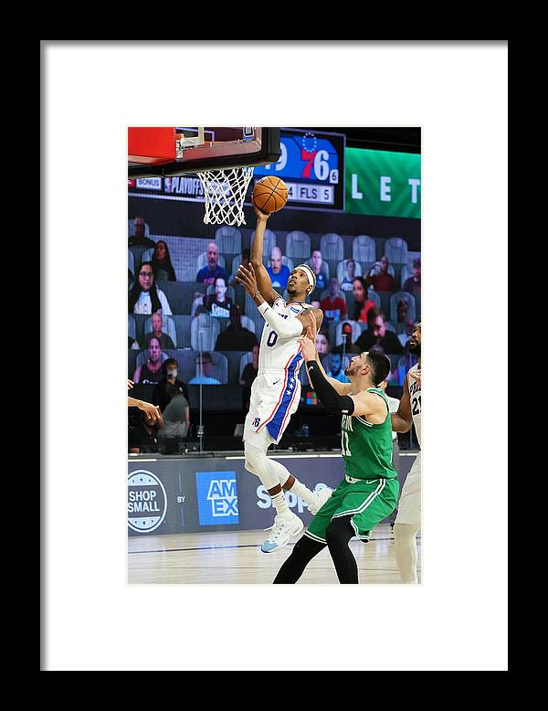 Playoffs Framed Print featuring the photograph Josh Richardson by Jesse D. Garrabrant