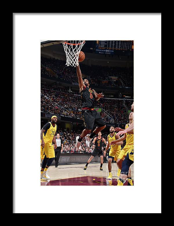 Playoffs Framed Print featuring the photograph J.r. Smith by David Liam Kyle
