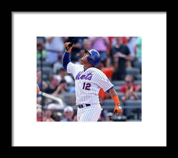 Three Quarter Length Framed Print featuring the photograph Juan Lagares by Elsa