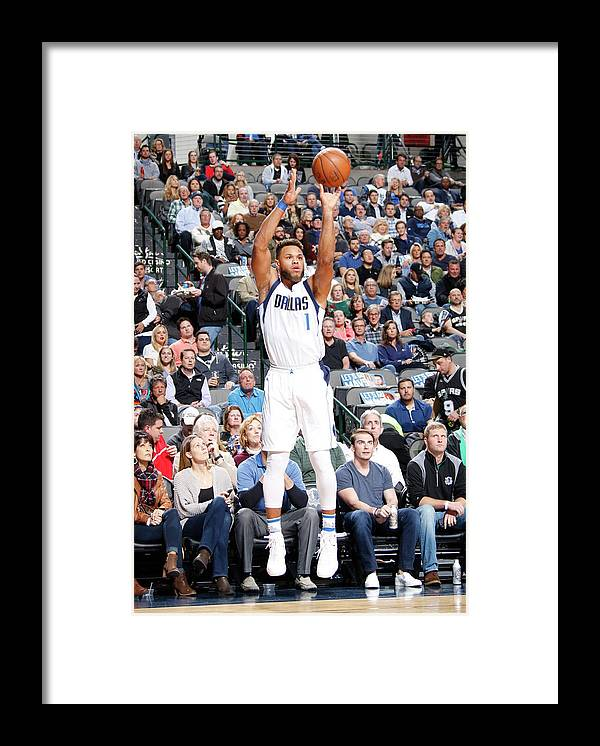 Nba Pro Basketball Framed Print featuring the photograph Justin Anderson by Danny Bollinger