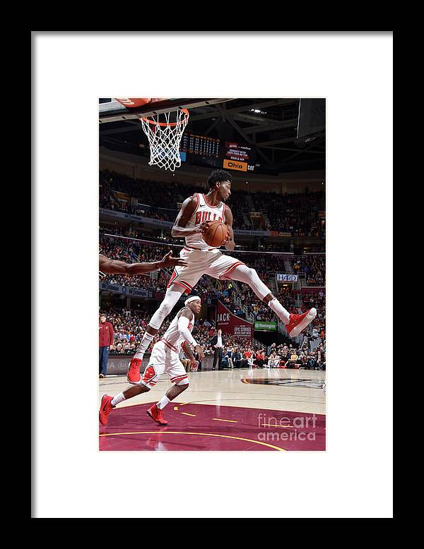 Nba Pro Basketball Framed Print featuring the photograph Justin Holiday by David Liam Kyle