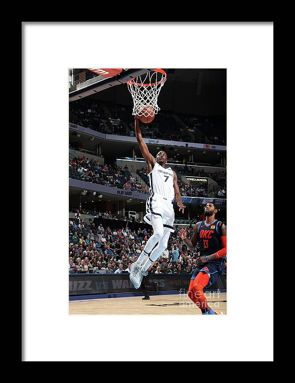 Nba Pro Basketball Framed Print featuring the photograph Justin Holiday by Joe Murphy