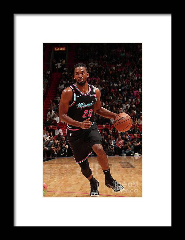 Justise Winslow Framed Print featuring the photograph Justise Winslow by Issac Baldizon