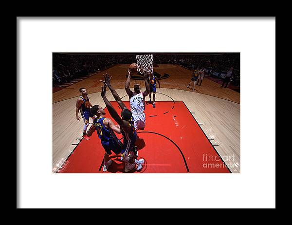 Playoffs Framed Print featuring the photograph Kawhi Leonard by Garrett Ellwood
