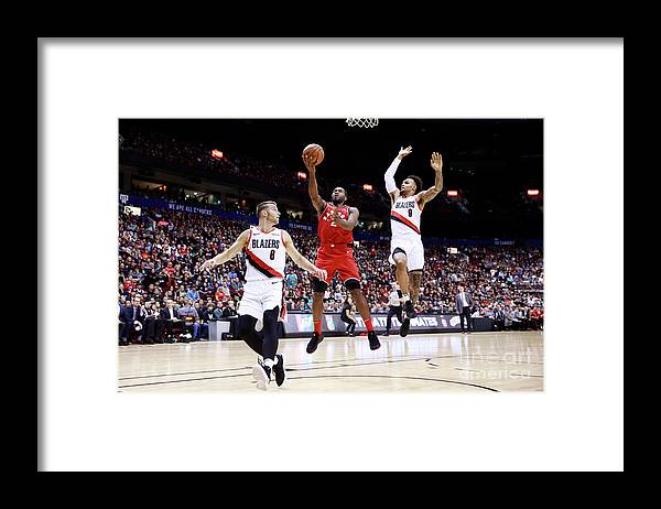 Nba Pro Basketball Framed Print featuring the photograph Kawhi Leonard by Jeff Vinnick