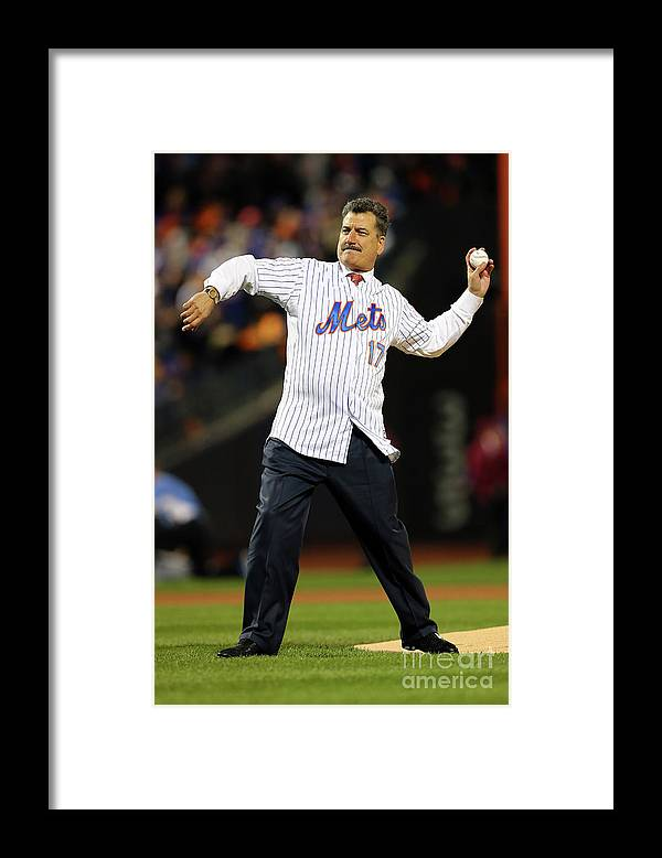 People Framed Print featuring the photograph Keith Hernandez by Elsa