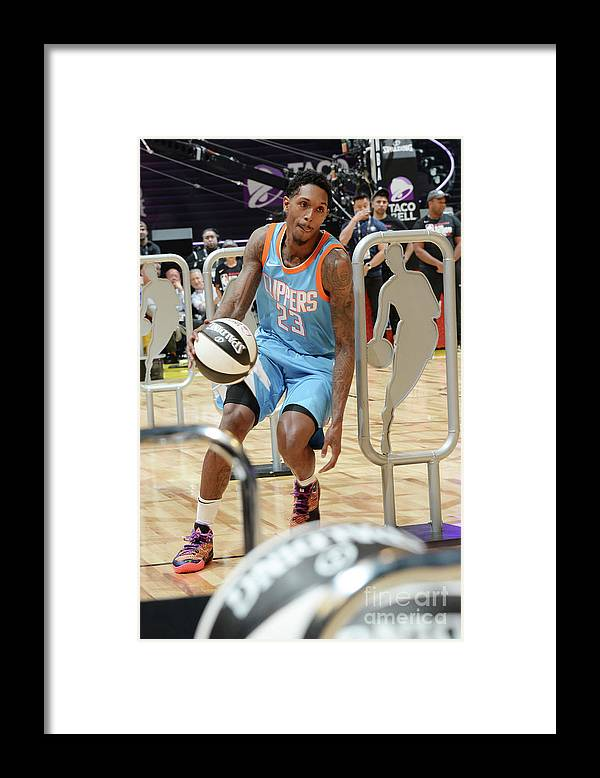 Event Framed Print featuring the photograph Kemba Walker by Andrew D. Bernstein