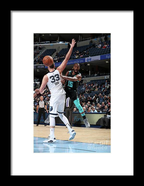Kemba Walker Framed Print featuring the photograph Kemba Walker by Joe Murphy