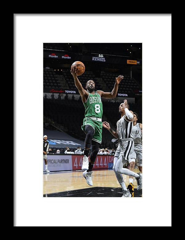 Kemba Walker Framed Print featuring the photograph Kemba Walker by Logan Riely
