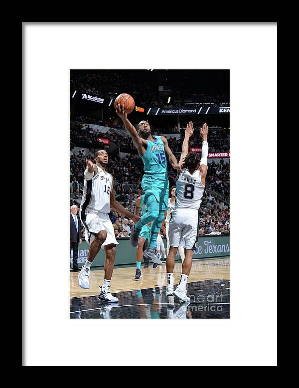 Kemba Walker Framed Print featuring the photograph Kemba Walker by Mark Sobhani