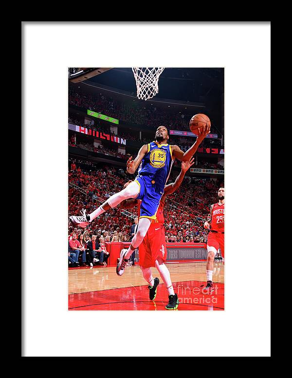 Playoffs Framed Print featuring the photograph Kevin Durant by Bill Baptist
