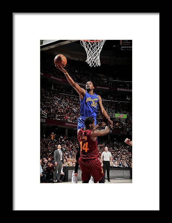 Nba Pro Basketball Framed Print featuring the photograph Kevin Durant by David Liam Kyle