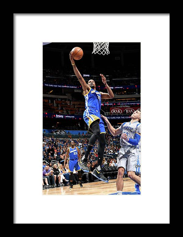 Nba Pro Basketball Framed Print featuring the photograph Kevin Durant by Fernando Medina