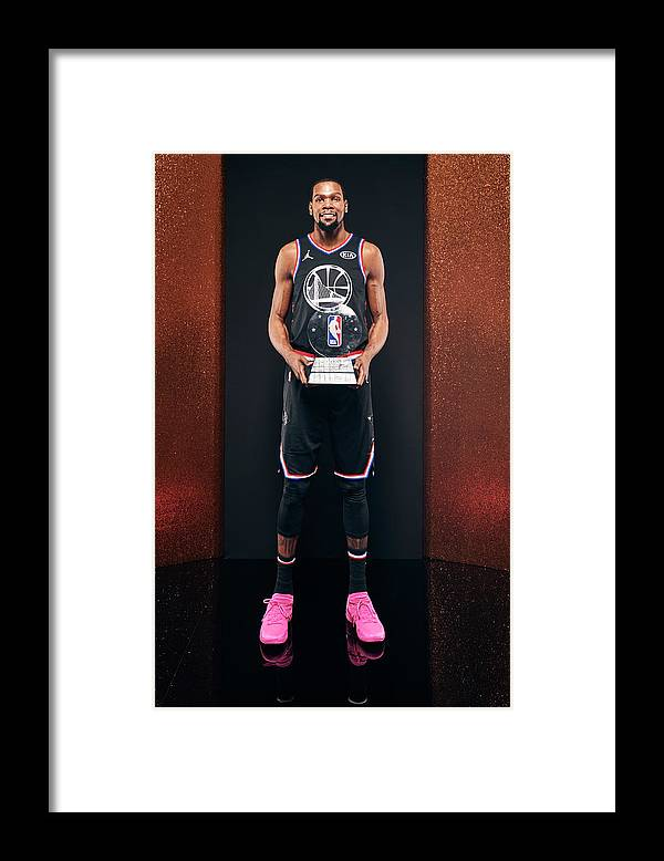 Nba Pro Basketball Framed Print featuring the photograph Kevin Durant by Jennifer Pottheiser