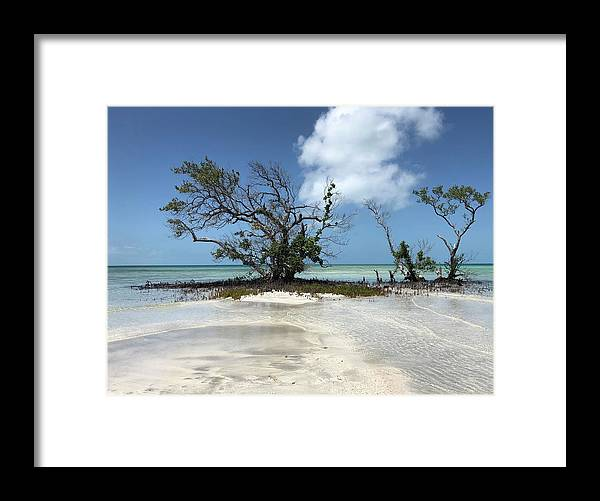 Key West Florida Waters Framed Print featuring the photograph Key West Waters by Ashley Turner