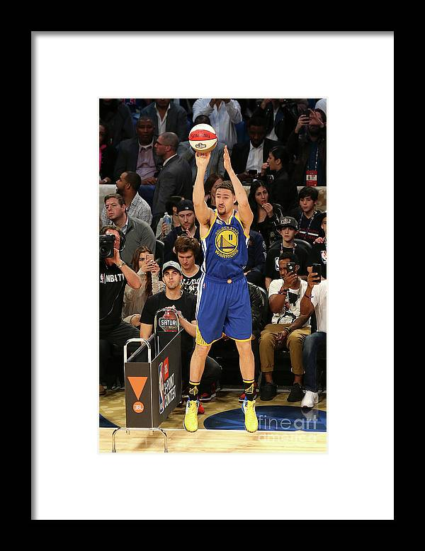 Event Framed Print featuring the photograph Klay Thompson by Layne Murdoch