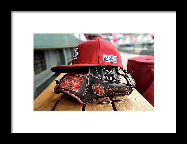 St. Louis Cardinals Framed Print featuring the photograph Kolten Wong by Thearon W. Henderson