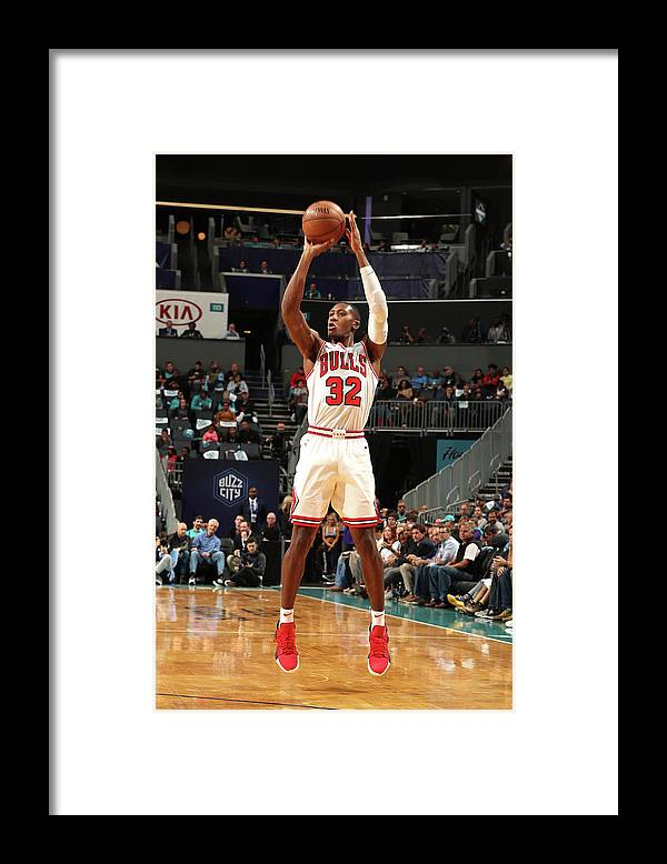Chicago Bulls Framed Print featuring the photograph Kris Dunn by Kent Smith
