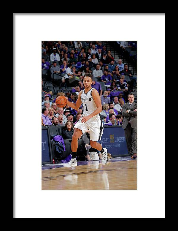 Nba Pro Basketball Framed Print featuring the photograph Kyle Anderson by Rocky Widner