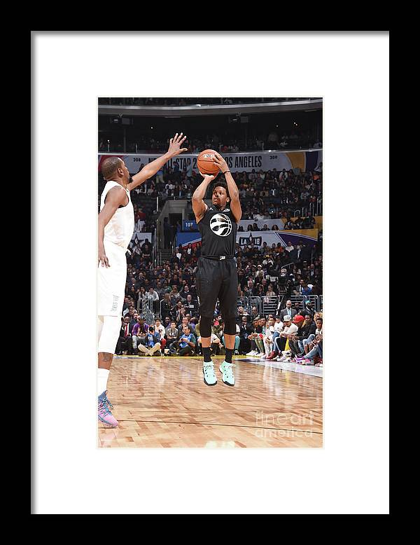 Nba Pro Basketball Framed Print featuring the photograph Kyle Lowry by Andrew D. Bernstein