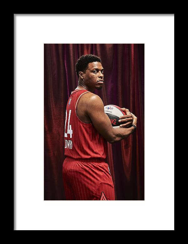 Nba Pro Basketball Framed Print featuring the photograph Kyle Lowry by Jennifer Pottheiser