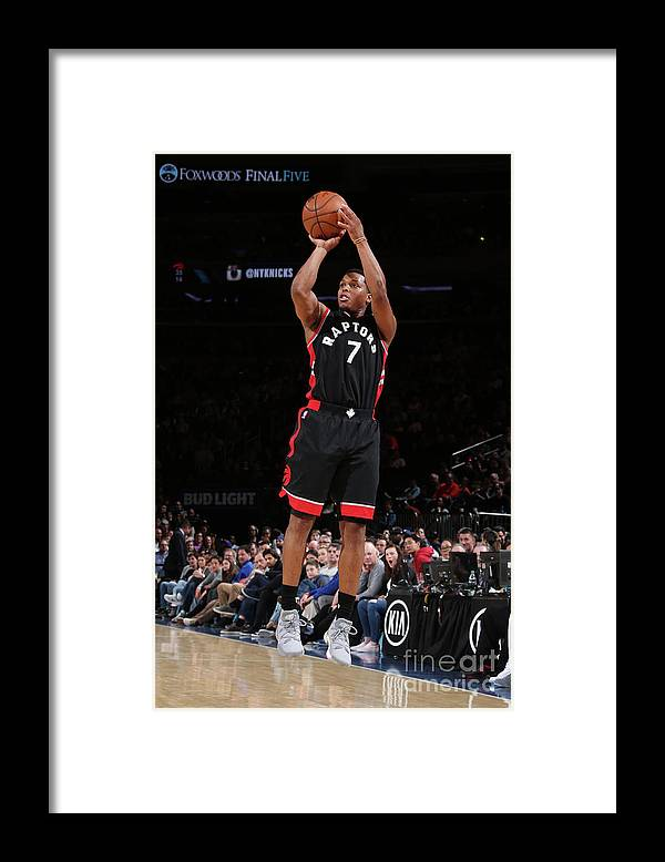Nba Pro Basketball Framed Print featuring the photograph Kyle Lowry by Nathaniel S. Butler