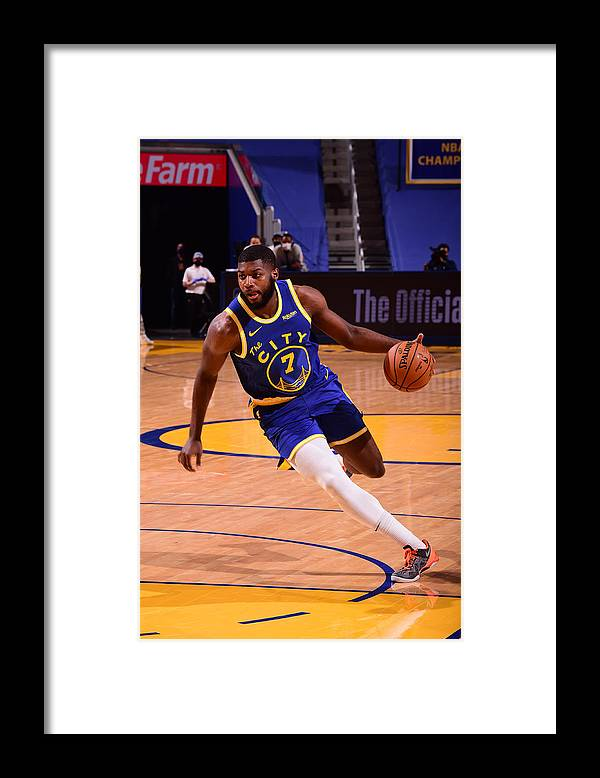 San Francisco Framed Print featuring the photograph LA Clippers v Golden State Warriors by Noah Graham