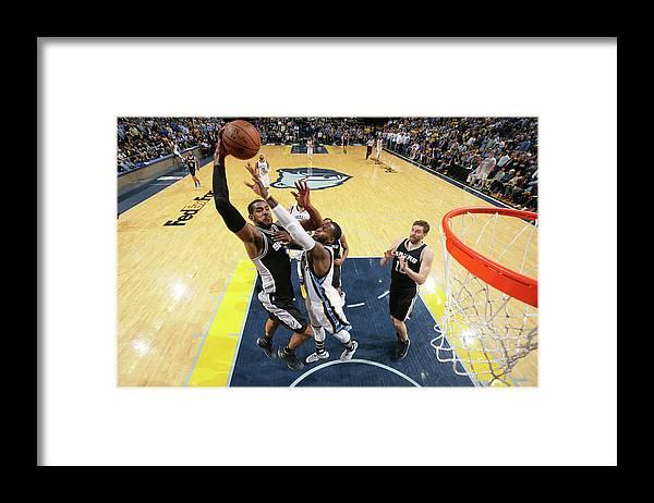 Playoffs Framed Print featuring the photograph Lamarcus Aldridge by Joe Murphy