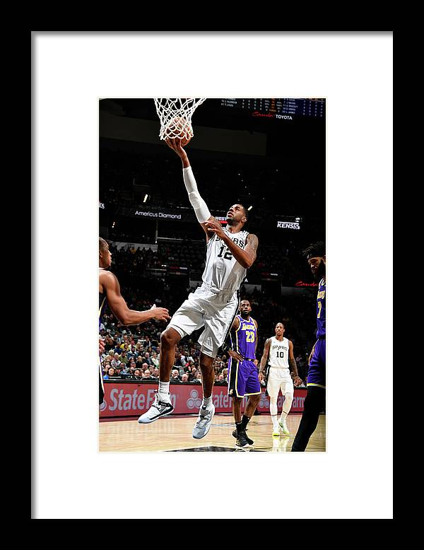Nba Pro Basketball Framed Print featuring the photograph Lamarcus Aldridge by Logan Riely