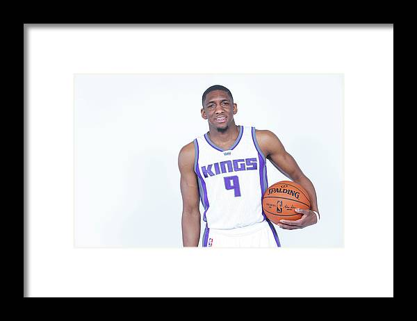 Nba Pro Basketball Framed Print featuring the photograph Langston Galloway by Rocky Widner