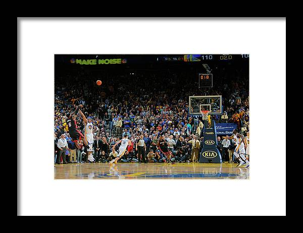 Nba Pro Basketball Framed Print featuring the photograph Lebron James by Rocky Widner