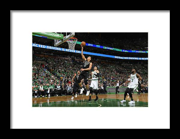 Playoffs Framed Print featuring the photograph Malcolm Brogdon by Brian Babineau